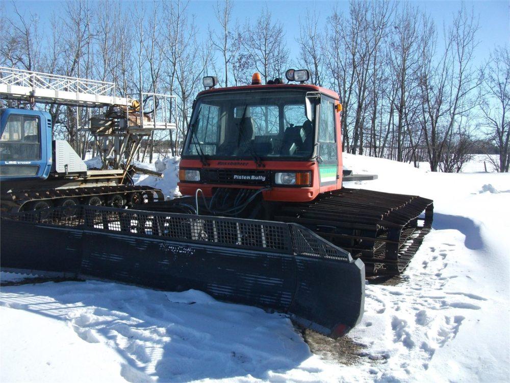 1995 Pisten Bully Pb270 Snow Cat 756 Groundhog Sales